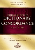 Super Giant Print Dictionary & Concordance