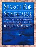 Search For Significance Build Workbook