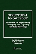 Structural Knowledge: Techniques for Representing, Conveying, and Acquiring Structural Knowledge