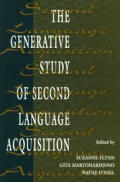 Generative Study Second Language P