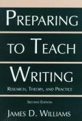 Preparing To Teach Writing 2nd Edition