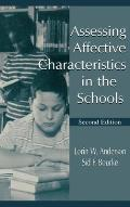 Assessing Affective Character. CL