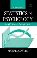 Statistics in Psychology 2nd Ed CL