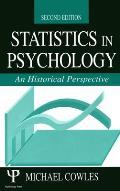 Statistics in Psychology 2nd Ed PR