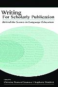 Writing Scholarly Publication PR