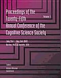 Cognitive Science Society; proceedings; 2v