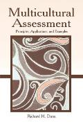 Multicultural Assessment Principles Applications & Examples