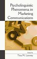Psycholinguistic Phenomena in Marketing Communications