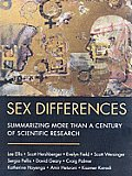 Sex Differences: Summarizing More Than a Century of Scientific Research [With CDROM]