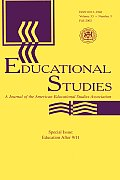 Education After 9/11: A Special Issue of Educational Studies