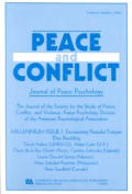 Millennium Issue I: Envisioning Peaceful Futures. a Special Issue of the Journal of Peace Psychology