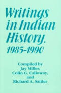 Writings In Indian History 1985 1990