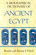 Biographical Dictionary Of Ancient Egypt