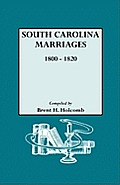 South Carolina Marriages, 1800-1820