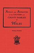 Annals & Antiquities Of Counties Volume 1