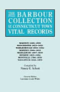 The Barbour Collection of Connecticut Town Vital Records. Volume 25: Madison 1826-1850, Manchester 1823-1853, Marlborough 1803-1852, Meriden 1806-1853