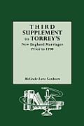 Third Supplement to Torrey