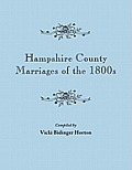 Hampshire County Marriages of the 1800s [Virginia and Later West Virginia]