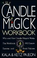 The Candle Magick Workbook (Library of the Mystic Arts) Cover