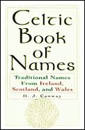 Celtic Book Of Names Traditional Names
