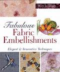 Fabulous Fabric Embellishments Elegant