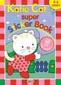 Katie Cat Super Sticker Book with Sticker