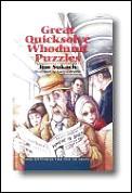 Great Quicksolve Whodunit Puzzles Mini