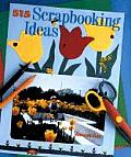 515 Scrapbooking Ideas Cover