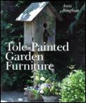 Tole Painted Garden Furniture
