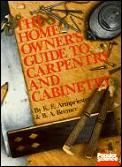 Homeowners Guide To Carpentry & Cabin