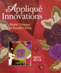 Applique Innovations Machine Techniques