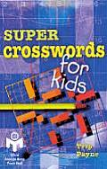 Super Crosswords for Kids: Mensa Cover