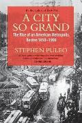 City So Grand The Rise of an American Metropolis Boston 1850 1900