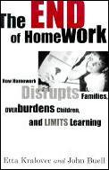 End Of Homework How Homework Disrupts