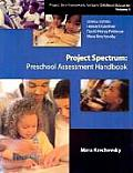Project Spectrum Preschool Assessment Handbook