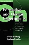 On Formative and Design Experiments: Approaches to Language and Literacy Research (an Ncrll Volume)