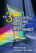 3 Dimensions of Improving Student Performance