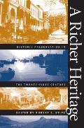Richer Heritage : Historic Preservation in the Twenty-first Century (03 Edition) Cover