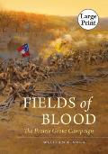 Fields of Blood (Large Print) (Civil War America)
