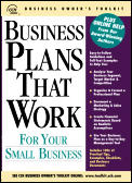 Business Plans That Work For Your Small