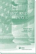 Maryland Taxes, Guidebook to (2013)