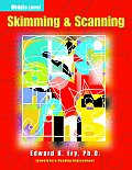 Skimming & Scanning Middle Level: Jamestown's Reading Improvement