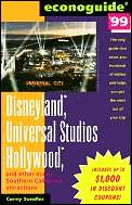 Econoguide Disneyland Universal Studi 99