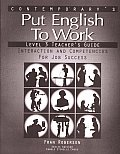 Put English to Work Level 3 Teacher Guide