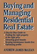 Buying & Managing Residential Real Est