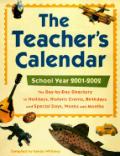 Teachers Calendar 2001 2002