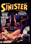 Pulp Classics Sinister Stories Volume 1 February 1940