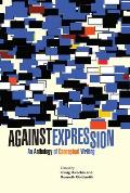 Against Expression An Anthology of Conceptual Writing