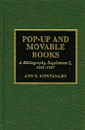 Pop Up & Movable Books A Bibliography