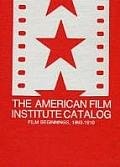 The American Film Institute Catalog of Motion Pictures Produced in the United States: Film Beginnings, 1893-1910-A Work in Progress